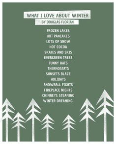 winter time quotes and sayings