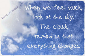 Sky Clouds Awareness Non-Duality Quote