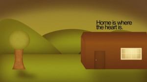 cartoons sunset design quotes hills valley cartoonish house hillside ...