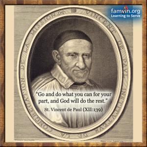 St Vincent DePaul Quotations