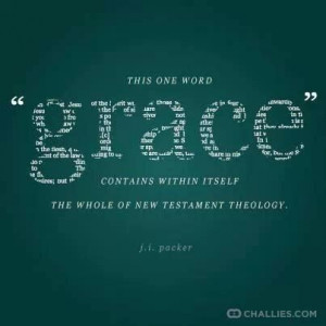 Love this Quote about Grace by J.I. Packer!