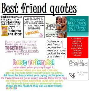 funny best friend quotes for girls