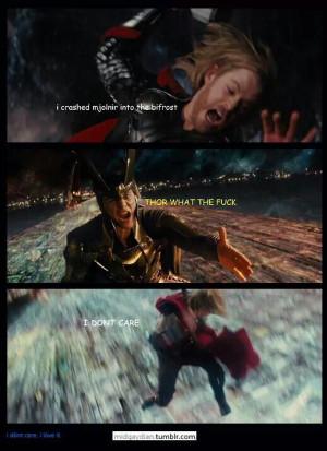 Loki ~ Thor, WTF?