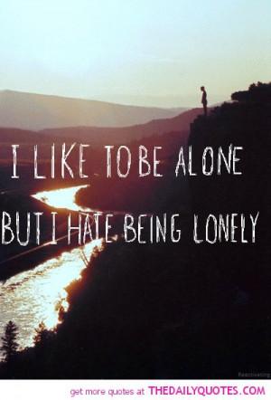 Alone And Depressed Quotes. QuotesGram