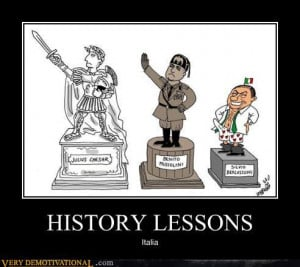 demotivational posters - HISTORY LESSONS