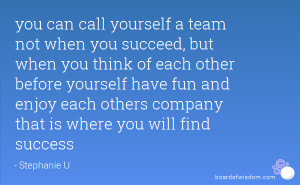 The Best Teamwork Quotes