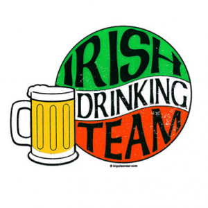Irish Drinking Team Beer Mug – T-Shirt
