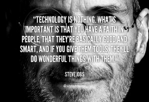 Technology Quotes Steve Jobs