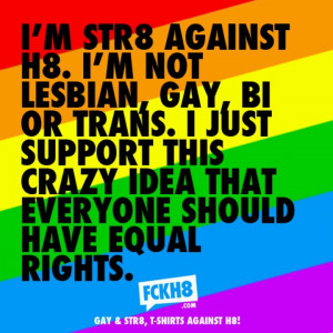 Equal rights for ALL!