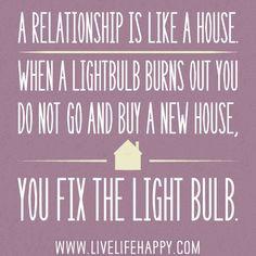 Fixing Relationships