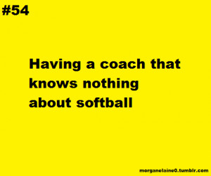 Funny Softball Quotes
