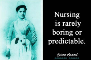 Nursing Is Not Boring