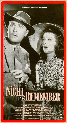 ... » Movie Collector Connect » Movie Database » A Night to Remember