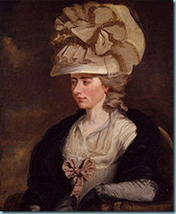 Fanny Burney. Image from http://bit.ly/eiFQ4S .