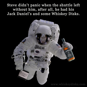 Jack Daniel's Astronaut - Posted by Hammerstone's Whiskey Disks ...