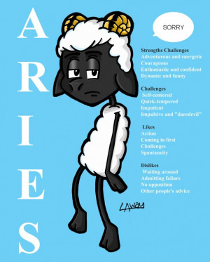 Aries Sorry Strenghts Challenges, Challengs, Likes, Dislikes - Apology ...