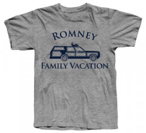 Funny Family Vacation T Shirts Romney family vacation funny