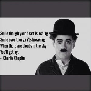 Smile Quotes, Famous Quotes, Smile Charliechaplin, Quotes Charli ...
