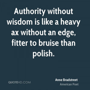 Anne Bradstreet Quotes