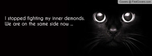 Quote Funny Quotes Stopped Fighting Inner Demons