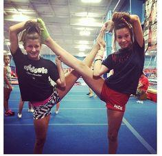 gymnastics friends. More