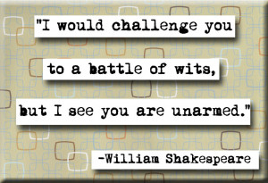 Challenge Famous William Shakespeare Quotes