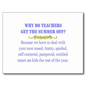 Funny Teacher Postcards