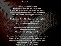 Football Mom/Quotes Football mom quotes football mom quotes Football ...