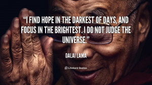 Daily Quote: Find Hope in the Darkest of Days