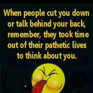 Motivational Wallpapers on Attitude: When people cut you down or talk ...