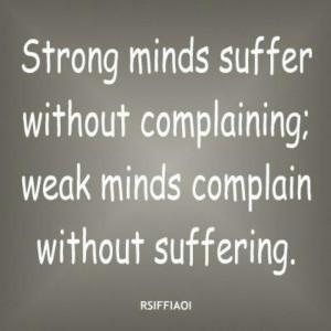 Weak minds