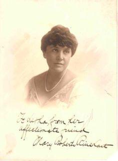 mary roberts rinehart | Mementos of Mary Roberts Rinehart