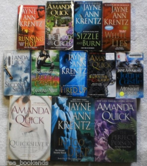 Amanda Quick, Jayne Castle, Jayne Ann Krentz Arcane Society lot of 12 ...