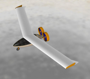 Dynamic and Static Yaw stability of a swept flying wing with winglets ...