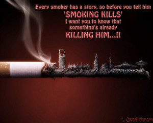 Smoking Quotes HD Wallpaper 12
