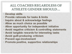 """Mars/Venus """"difference"""" approach to coaching exaggerates ..."""