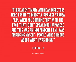As you can probably tell, I like films and directors that bring a ...
