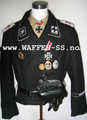 waffen ss officer uniform