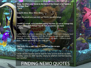 Finding Nemo Quotes
