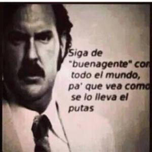 Frases Pablo Escobar - YouTube  Pablo Escobar Frases