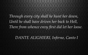 DANTE ALIGHIERI, Inferno, Canto I