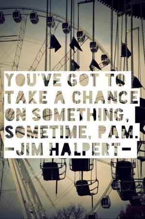 Jim Halpert Quotes About Pam Jim halpert. perfection.