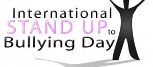 Standing Up To Bullies Stand up to bullying day,