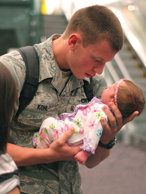 amazing, cute, daughter, soldier