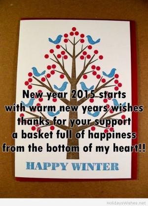 Happy winter scene with quotes Happy winter scene with quotes