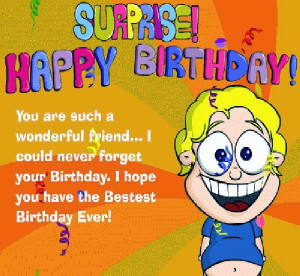 Related image with Funny Best Friend Birthday Quotes