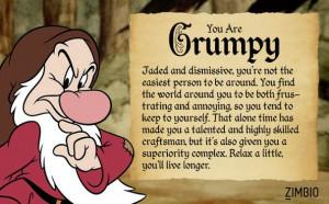 ... Grumpy, Random Stuff, Seven Dwarfs, People, Grumpy Dwarf, Tis Quiz