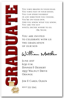 Graduation Party Invitations and Graduation Announcements