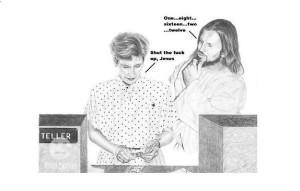 Jesus Being a Jerk