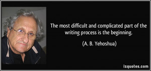 More A. B. Yehoshua Quotes